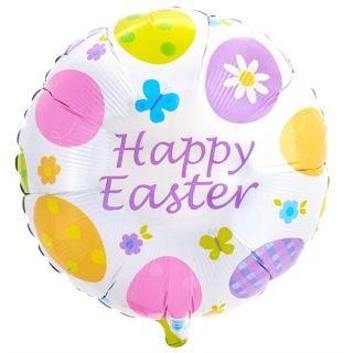 Balon folie 45cm Happy Easter, Amscan