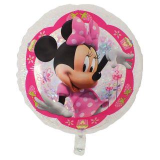 Balon Folie 55 cm Holografic Minnie Mouse, Amscan 32925
