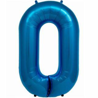 Balon folie albastru in forma de za - 86cm, Northstar Balloons 00831