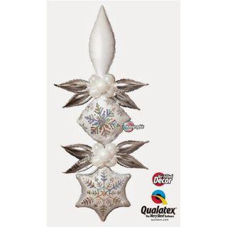 """Folie Taper 68 cm / 27"""" Argintiu Metalizat, Q 17134"""