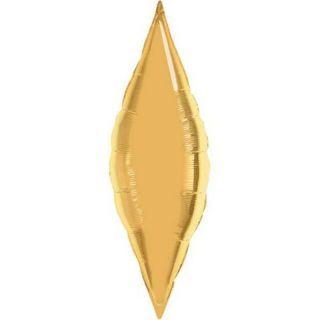 """Folie Taper 33 cm / 13"""" Auriu Metalizat"""
