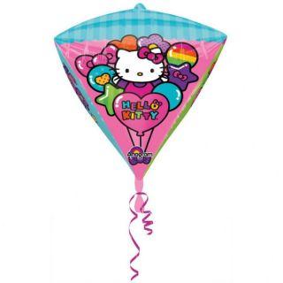 Balon Folie Diamondz Hello Kitty - 38 x 45 cm, Amscan