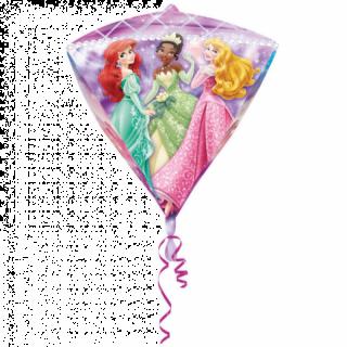 Balon folie diamondz Printese Disney - 38x43cm, Amscan
