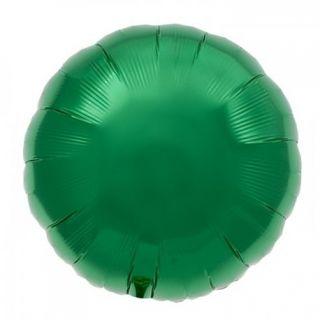 Balon folie emerald green metalizat rotund - 45cm, Northstar Balloons 00742