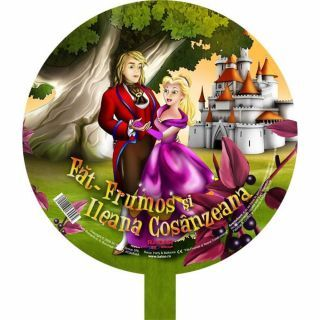 Balon folie Fat Frumos si Ileana Cosanzeana - 45cm, Radar