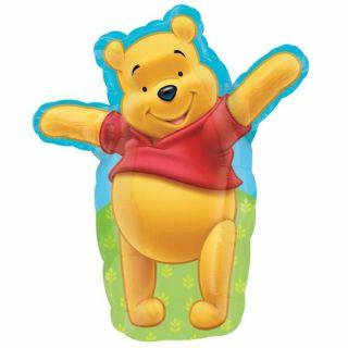 Balon folie figurina Adorable Pooh - 60cm, Amscan 15753