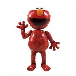 Balon folie figurina AirWalker Elmo Muppets Airwalker - 97x137cm, Amscan 23486