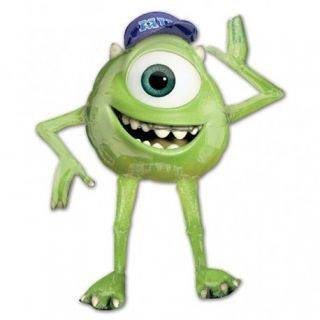 Balon folie figurina Mike Monsters University Airwalkers - 129x137cm, Amscan 111199