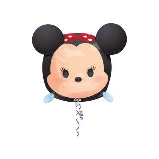 Balon folie figurina Minnie Mouse Tsum Tsum - 30x48 cm, Amscan 34111