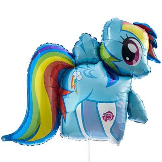 Balon folie figurina My Little Pony - 71x68cm, Amscan 26467