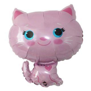 Balon folie figurina Pisica, Amscan 27580