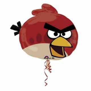 Balon folie figurina Red Bird Angry Birds - 54x51cm, Amscan 24810