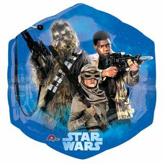 Balon folie figurina Star Wars The Force Awakens - 53x58cm, Amscan 3162401