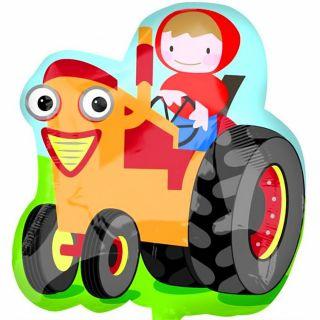 Balon folie figurina tractor - 55x60cm, Amscan 22988