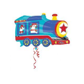 Balon Folie Figurina Trenulet Animalute - 76 x 50 cm, Amscan 34570