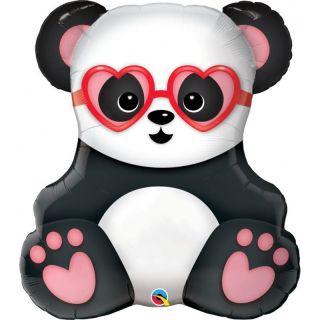 """Balon Folie Figurina Urs Panda 32""""/81 cm, Q 54882"""