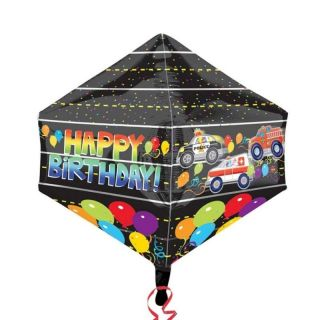 Balon Folie Happy Birthday - 43x53 cm, Amscan