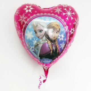 Balon folie inima Frozen - Anna & Elsa - 45cm, Amscan
