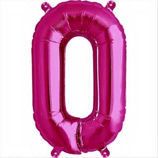 Balon folie litera O magenta - 41cm, Northstar Balloons 00519