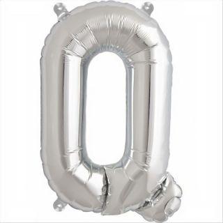 Balon folie litera Q argintiu - 41cm, Northstar Balloons 00495