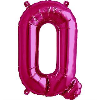 Balon folie litera Q magenta - 41cm, Northstar Balloons 00521
