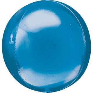 Balon folie orbz Blue - 38 x 40 cm