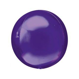 Balon folie orbz Purple - 38 x 40 cm