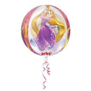 Balon Folie Orbz Rapunzel - 38x40 cm, Amscan