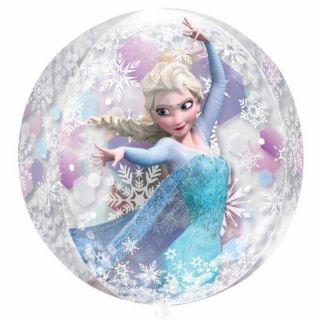 Balon folie orbz sfera Frozen - 38x40 cm, Amscan 301870