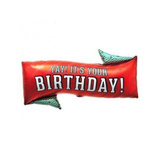 Balon Folie Yay! It's Your Birthday! 79 cm, Northstar Balloons