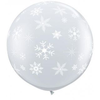 Balon Jumbo Diamond Clear Fulgi de Nea