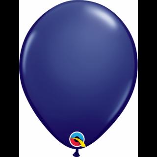 "Balon Latex 5"" Navy Blue, Qualatex 57125, set 100 buc"