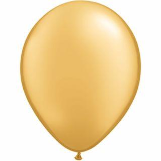 Balon Latex Gold 16 inch (41 cm), Qualatex