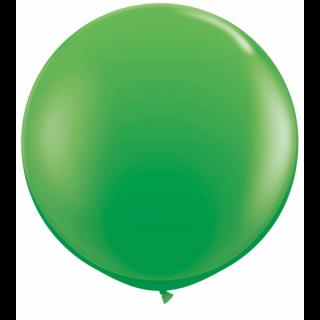 Balon latex Jumbo 3 ft Spring Green, Qualatex 45715, set 1 buc