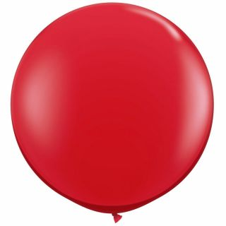"Balon latex Jumbo 39"" (1 m) Red, Amscan 991392,1 buc"