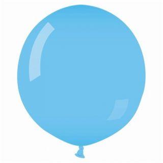 Balon Latex Jumbo 75 cm, Albastru Deschis 09, Gemar G200.09, 1 buc