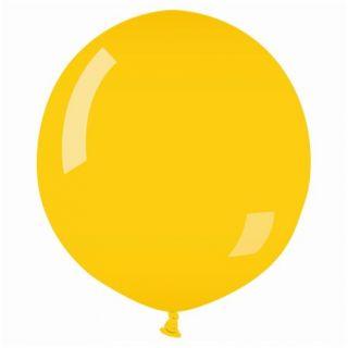 Balon Latex Jumbo 75 cm, Galben 02, Gemar G200.02, 1 buc