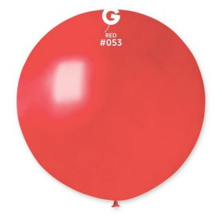 Balon Latex Jumbo 80 cm, Red 53 Sidefat, Gemar GM220.53