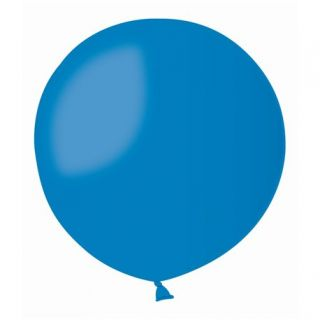 Balon Latex Jumbo 90 cm, Albastru 10, Gemar G250.10, 1 buc