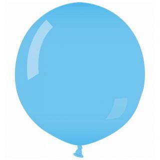 Balon Latex Jumbo 90 cm, Albastru Deschis 09, Gemar G250.09, 1 buc