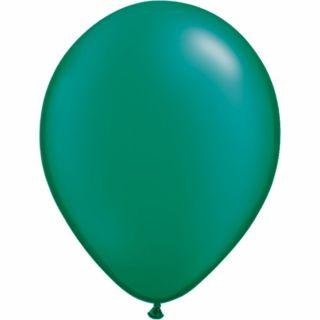 Balon Latex Pearl Emerald Green 16 inch (41 cm), Qualatex