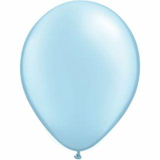 Balon Latex Pearl Light Blue 11 inch (28 cm), Qualatex