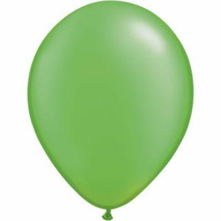 Balon Latex Pearl Lime Green 11 inch (28 cm), Qualatex