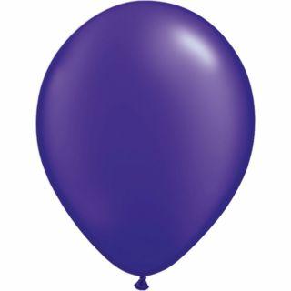 Balon Latex Pearl Quartz Purple 16 inch (41 cm), Qualatex