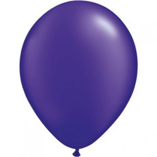Balon Latex Pearl Quartz Purple 5 inch (13 cm), Qualatex