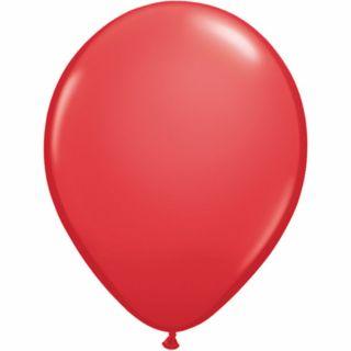 Balon Latex Red, 11 inch (28 cm), Qualatex 43790