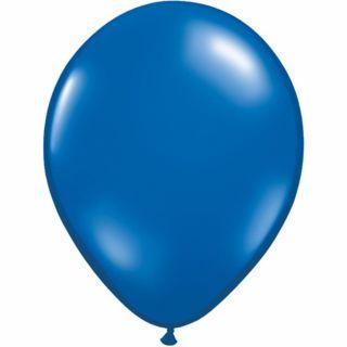 Balon Latex Sapphire Blue, 5 inch (13 cm), Qualatex , set 100 buc