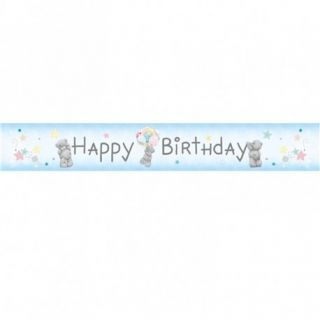 Banner decorativ pentru petrecere, Happy Birthday Me To You, Amscan