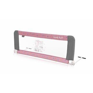 Bariera protectie pat, Safety Night, reglabila, Pink Travelling