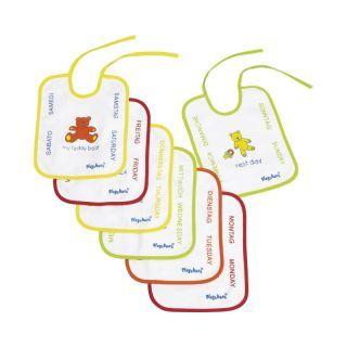 Baveta frotir/plastic Playshoes 25X20 cm 7buc./set A Haberkorn